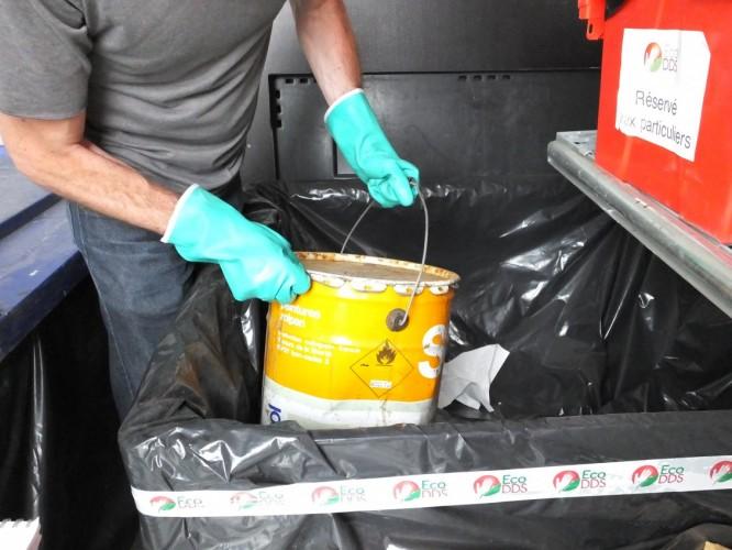 Des déchets dangereux à manier avec précaution