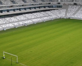 Carton vert pour le Nouveau Stade de Bordeaux